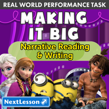 Bundle G3 Narrative Reading & Writing - Making it Big Performance Task