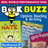 G3 Opinion Reading & Writing - Book Buzz Performance Task