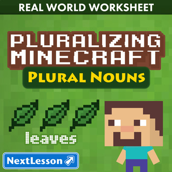 G3 Plural Nouns - 'Pluralizing Minecraft' Essential
