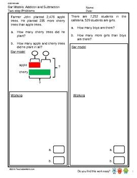 G3S1W8-MW Bar Modeling (Singapore Mastery Method)
