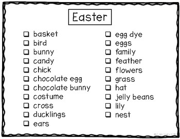G4 Easter Photo Labeling