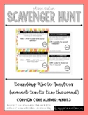 {Grade 4} Place Value Scavenger Hunt #3: Rounding Whole Numbers