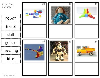 G4 Toys Photo Labeling