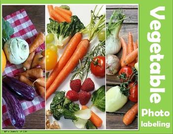 G4 Vegetable Photo Labeling
