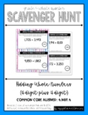 {Grade 4} Whole Number Scavenger Hunt Set: Adding 4-Digit Numbers