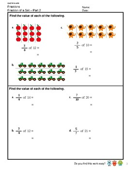 G4S1W14-MW Fraction of a Set (Part 2) (Singapore Mastery Method)