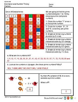 G4S1W4-MW Factors (Singapore Mastery Method)