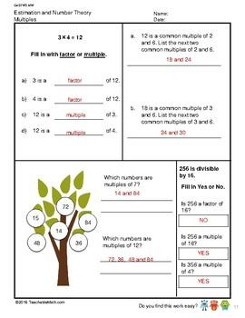 G4S1W5-MW Multiples (Singapore Mastery Method)