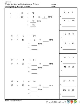 G4S1W7-MW Multiply by a 2-digit Number (Singapore Mastery Method)