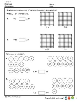 G4S2W2-MW Decimals Comparing and Rounding (Singapore Mastery Method)