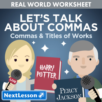 G5 Commas & Titles of Works - Let's Talk About Commas Essentials Bundle