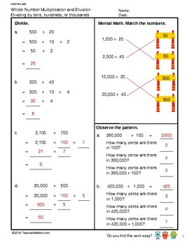 G5S1W4-MW Whole Number Division_WithSolutions (Singapore Mastery Method)