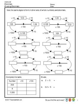 G5S2W4-MW Dividing Decimals (Singapore Mastery Method)
