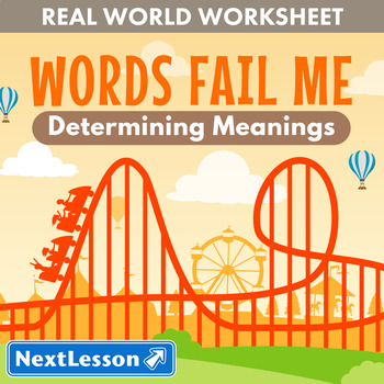 G6 Determining Meanings - 'Words Fail Me' Essential: Kings Island