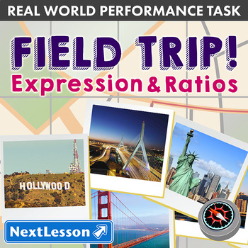 Bundle G6 Expressions & Ratios - Field Trip Performance Task