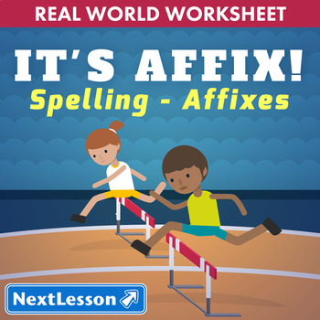 G6 Spelling with Affixes - It's Affix! Essential: Track & Field