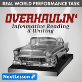Bundle G7 Informative Reading & Writing - Overhaulin' Performance Task