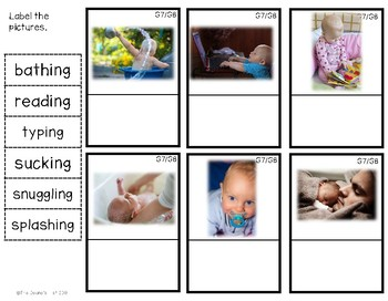 G8 Labeling Baby Action Photos