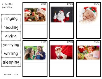 G8 Labeling Christmas Action Photos