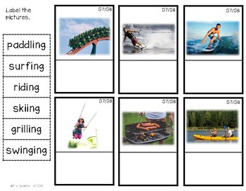 G8 Labeling Summer Action Photos