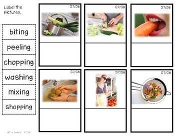 G8 Labeling Vegetable Action Photos