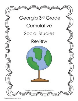 GA 3rd Grade Social Studies Cumulative Review
