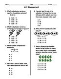 GA Common Core Math Unit 2 Assessment