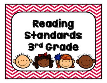 Georgia (GSE) Reading Standards Third Grade
