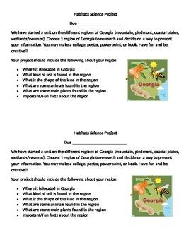 GA Habitats Project