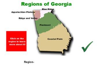 GA Land Regions
