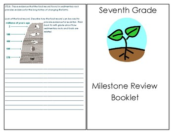GA Milestone (or PostTest) Review Book! All Standards Covered