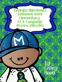 GA Milestones Common Core Elementary ELA Language Review Quizzes