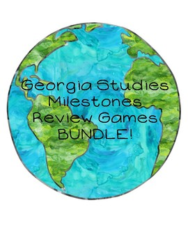 GA Milestones Review Games BUNDLE