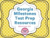 GA Milestones Test Prep Resources BUNDLE (BW & Colored Posters)