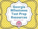 GA Milestones Test Prep Resources (Gray-scale Posters)