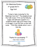 GA Milestones or End of Year Math Review