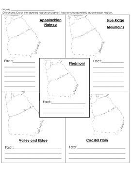 GA Regions