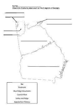 GA Regions Practice