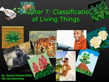 GA Science Chapter 7 Classification of Living Things PowerPoint-