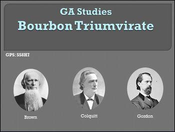GA Studies Bourbon Triumvirate PowerPoint