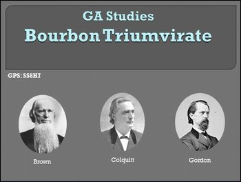 GA Studies Bourbon Triumvirate PowerPoint