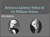 GA Studies Rebecca Latimer Felton PowerPoint & Lesson Plan