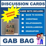 GAB BAG - Discussion Cards Activities - GROWING BUNDLE!