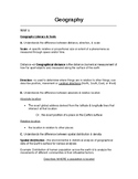 GACE Geography Assessment Study Guide