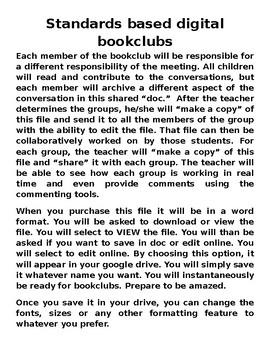 GAFE Ready Digital Book Clubs