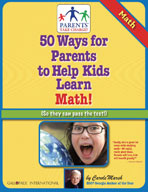 50 Ways for Parents to Help Kids Learn Math!