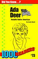 Ada Deer: Notable Native American
