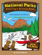 America's National Parks Coloring and Activity Book