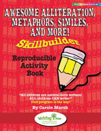 Awesome Alliteration, Metaphors, Similes, and More! Skillbuilder Reproducible Activity Book