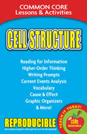Cell Structure  Common Core Lessons and Activities